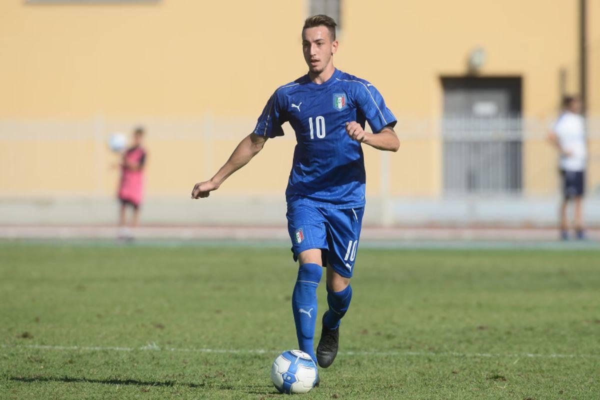 Gaetano Castrovilli pronto al debutto con la Nazionale maggiore
