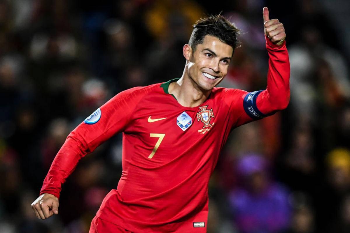 Cristiano Ronaldo qualificato a Euro 2020 con il Portogallo