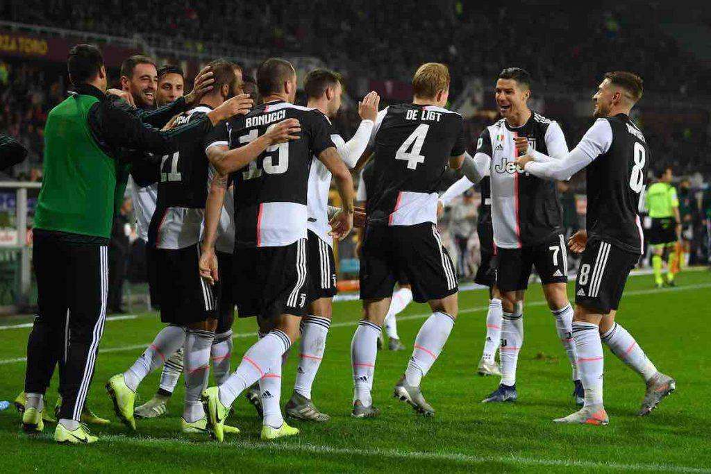 Ronaldo porta a cena la Juventus