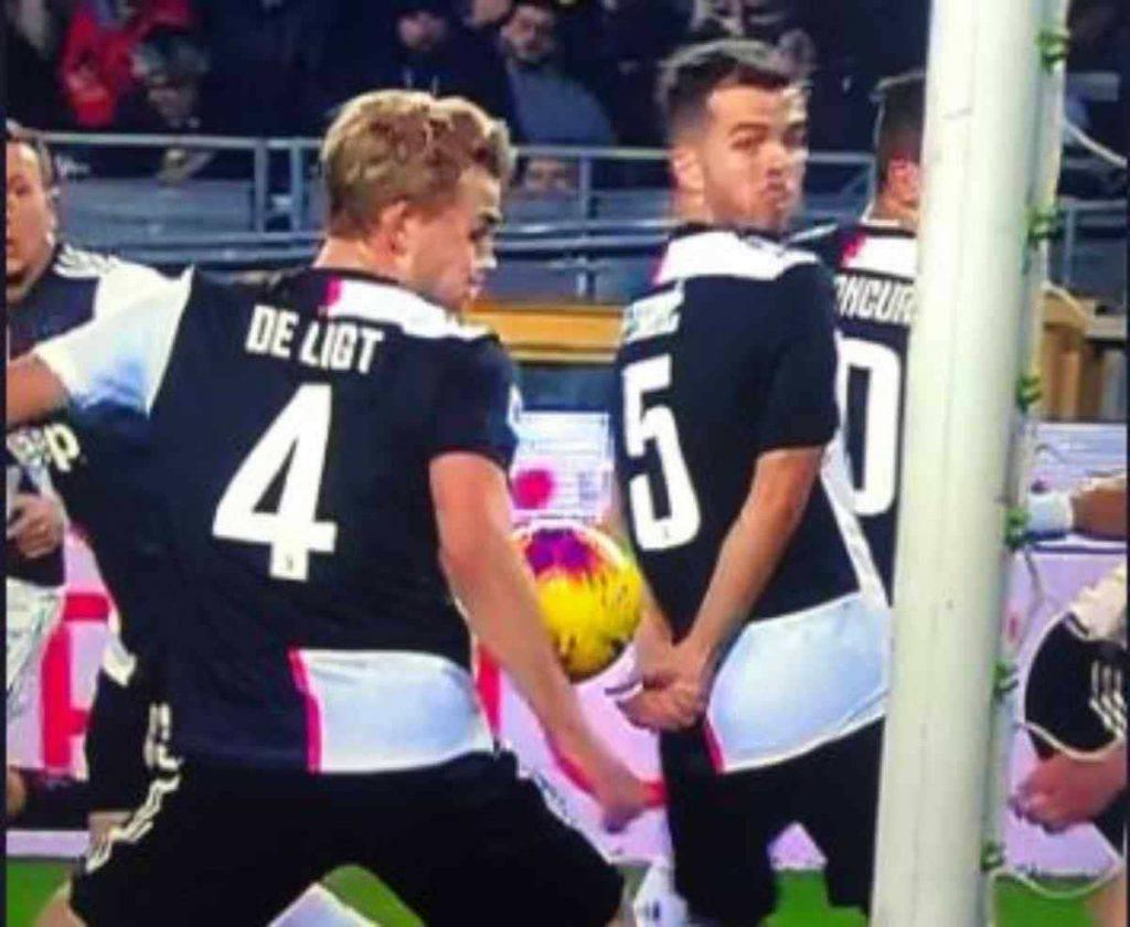 De Ligt tocco di mano con il Torino