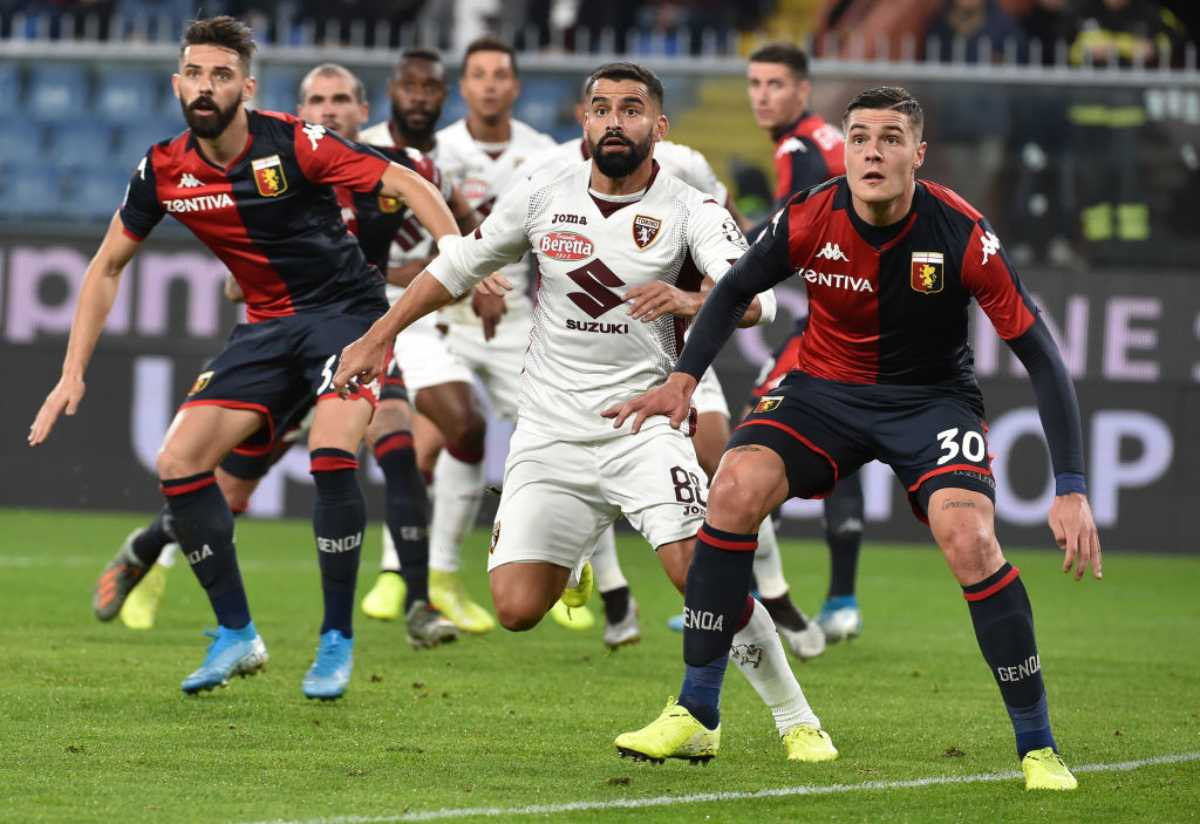 Genoa Torino Highlights