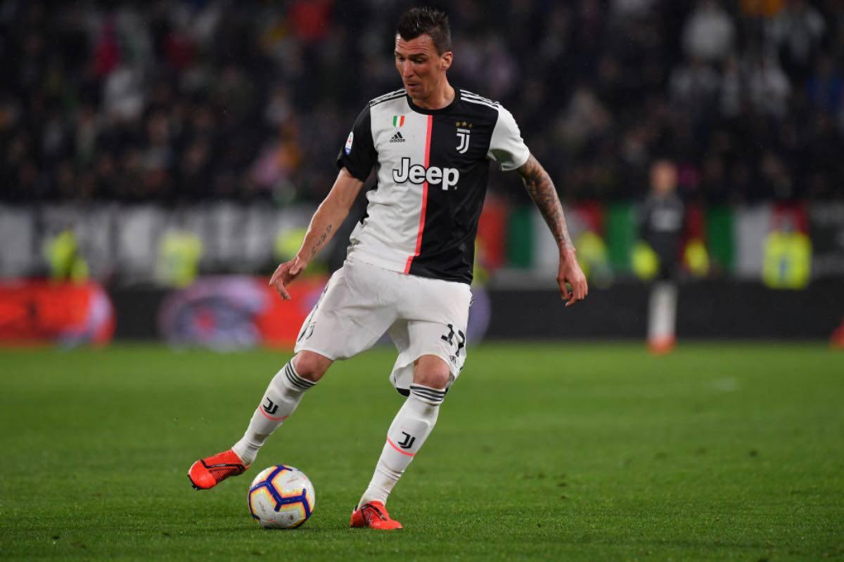 Juventus, chi fine ha fatto Mandzukic. Zero minuti e le acquirenti scappano