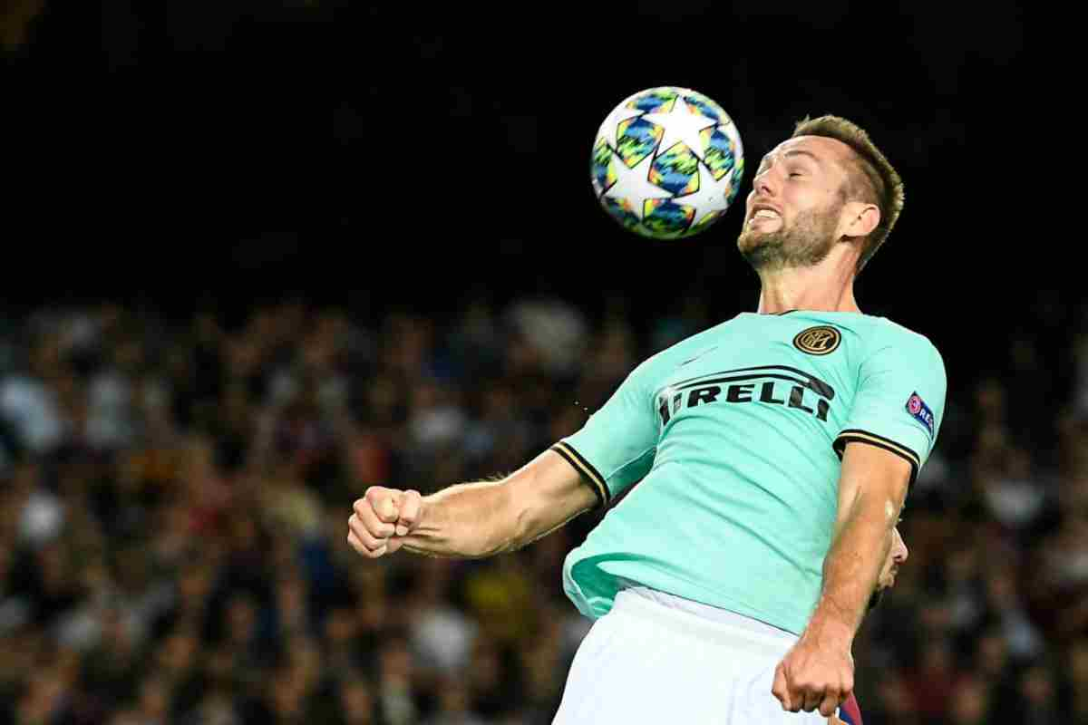"""Inter, Skriniar: """"Sto bene qui, siamo una squadra forte. Pronto a marcare Messi"""""""