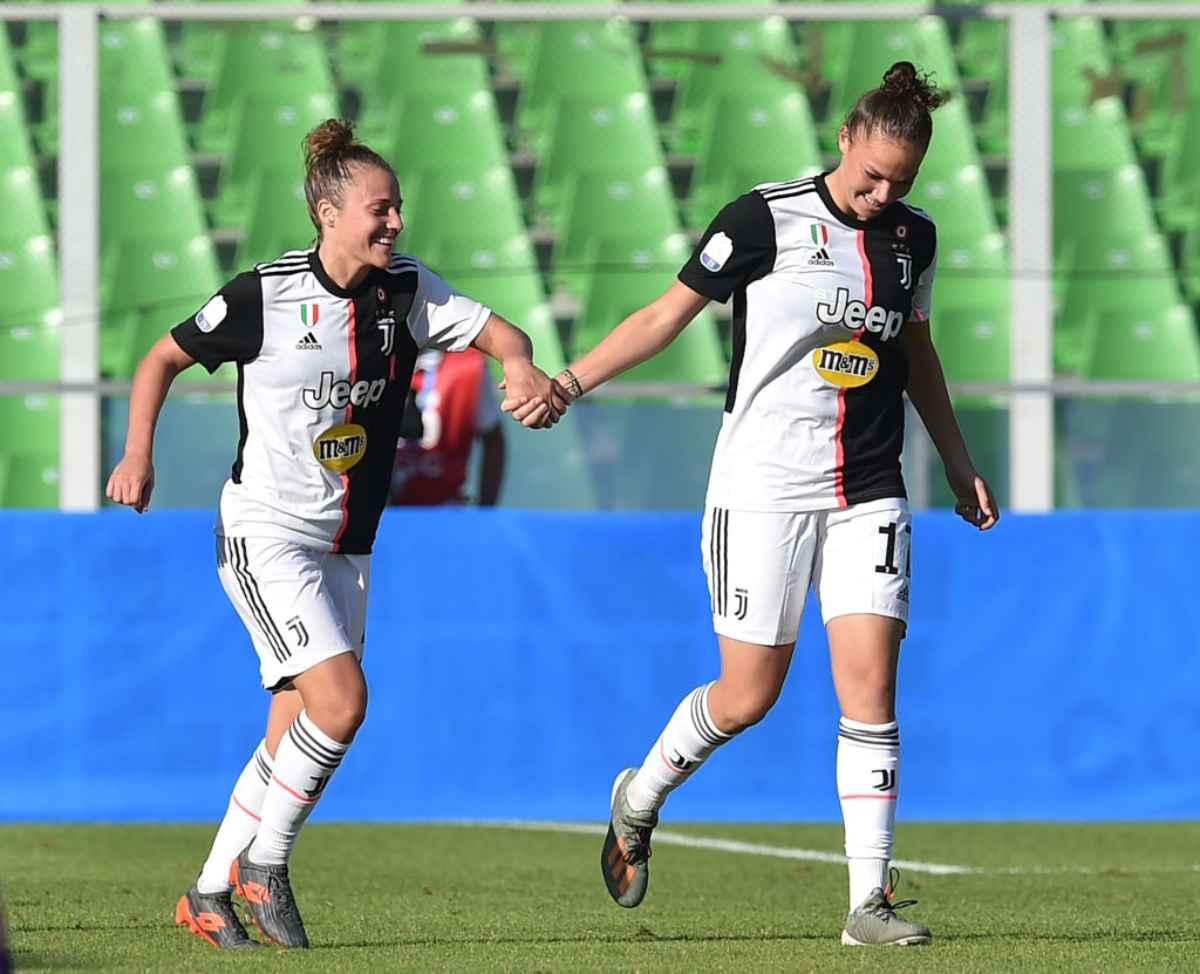 Milan-Juventus Serie A femminile, streaming gratis e diretta tv oggi dalle 15:00