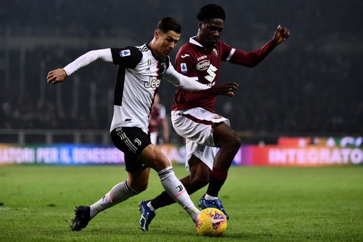 Serie A, Torino-Juventus: Cristiano Ronaldo