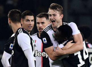 Serie A, Torino-Juventus 0-1: De Ligt, stoccata vincente. Inter superata di nuovo