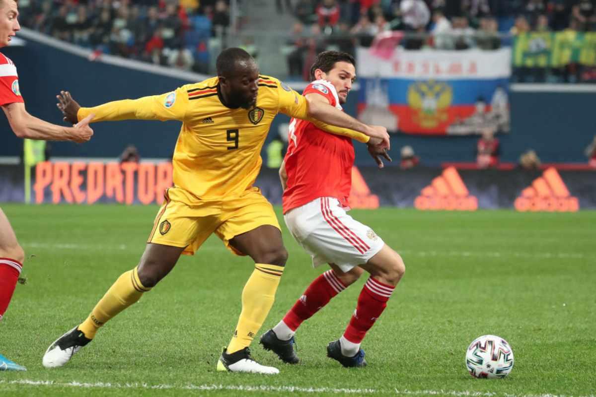 Lukaku in gol in Russia-Belgio 1-4 (video)