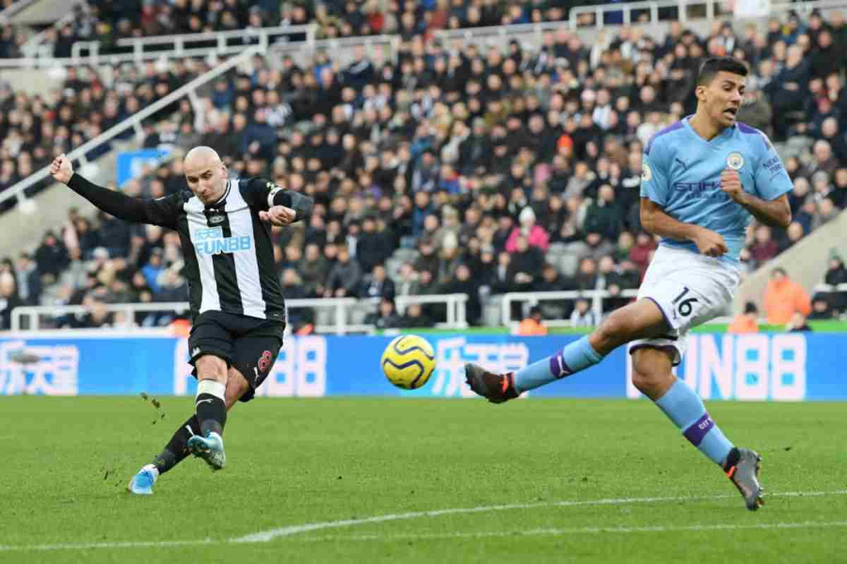 Premier League: il Manchester City frena ancora, solo un pari a Newcastle