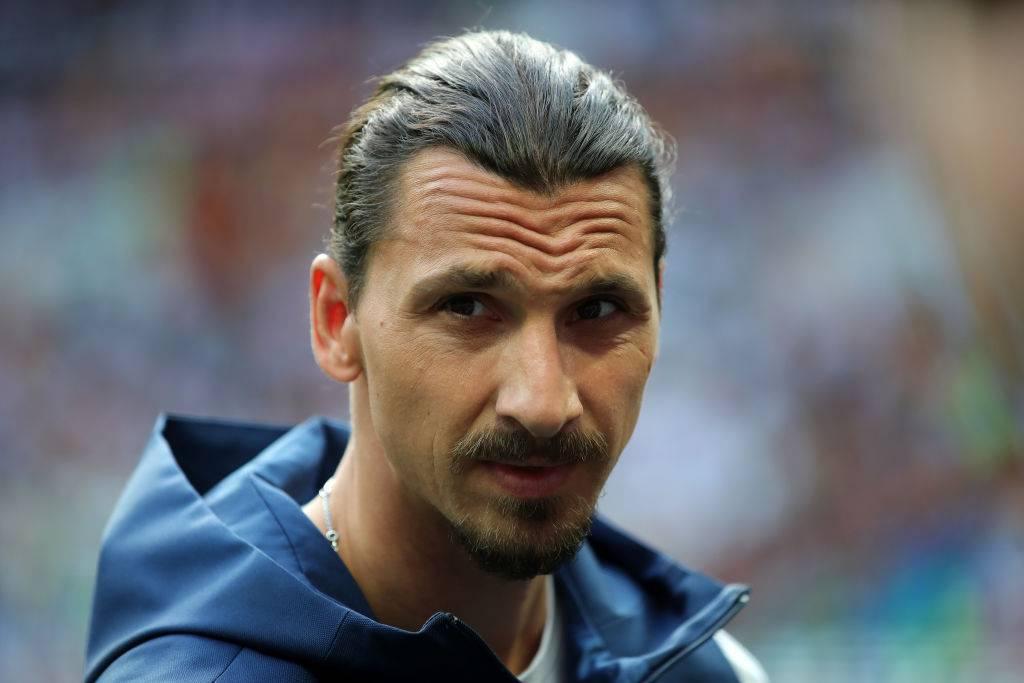 Zlatan Ibrahimovic tratta con il Milan