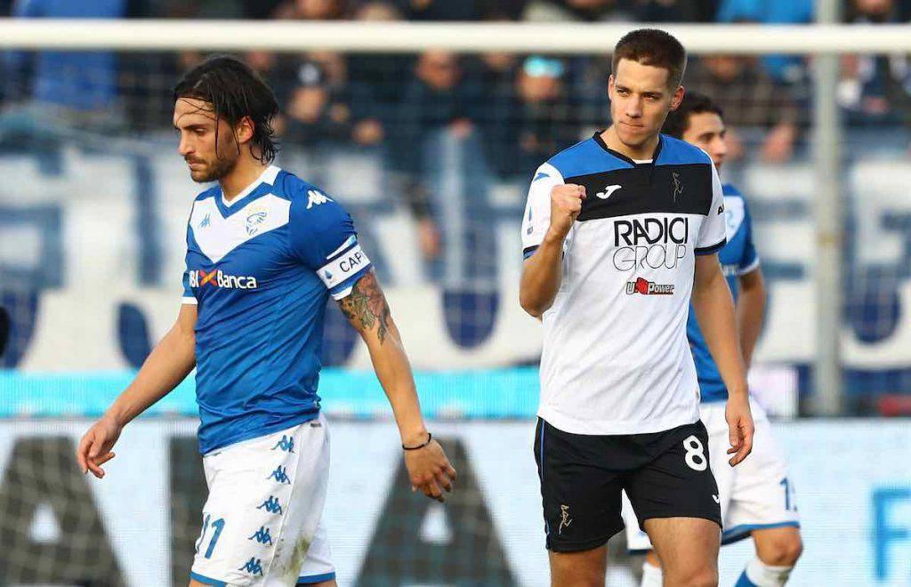Highlights Brescia-Atalanta, gol e sintesi partita