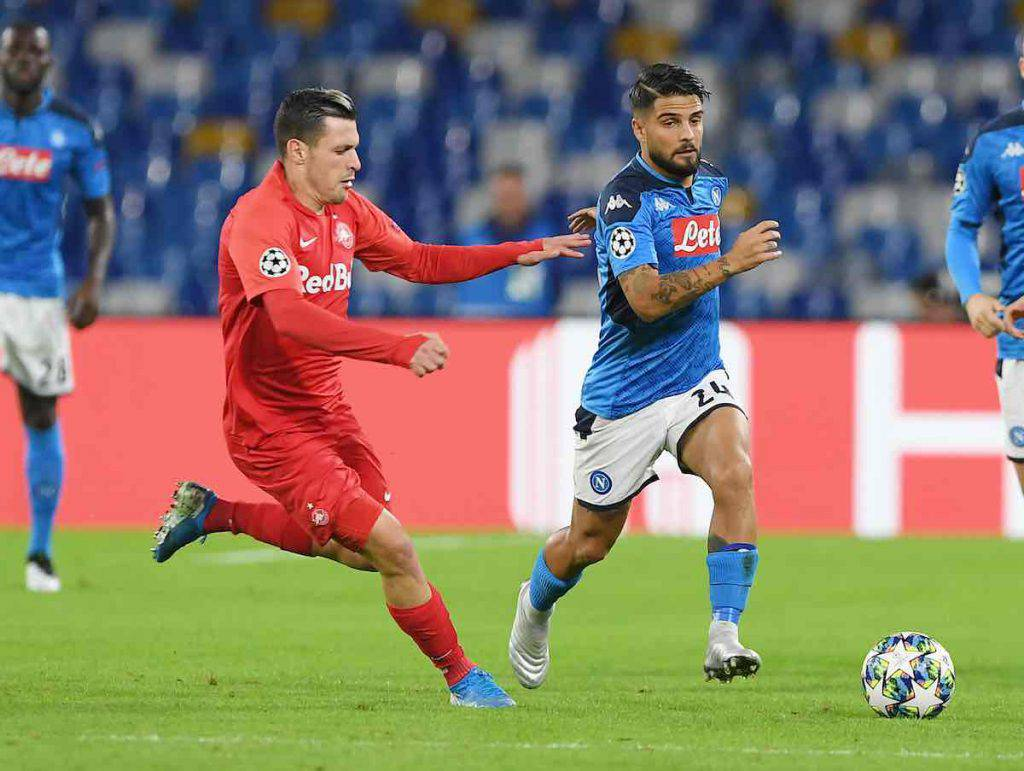 Highlights Napoli-Salisburgo, gol e sintesi partita