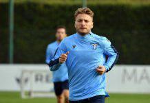 Lazio, Immobile: allarme rientrato, si allena con il gruppo