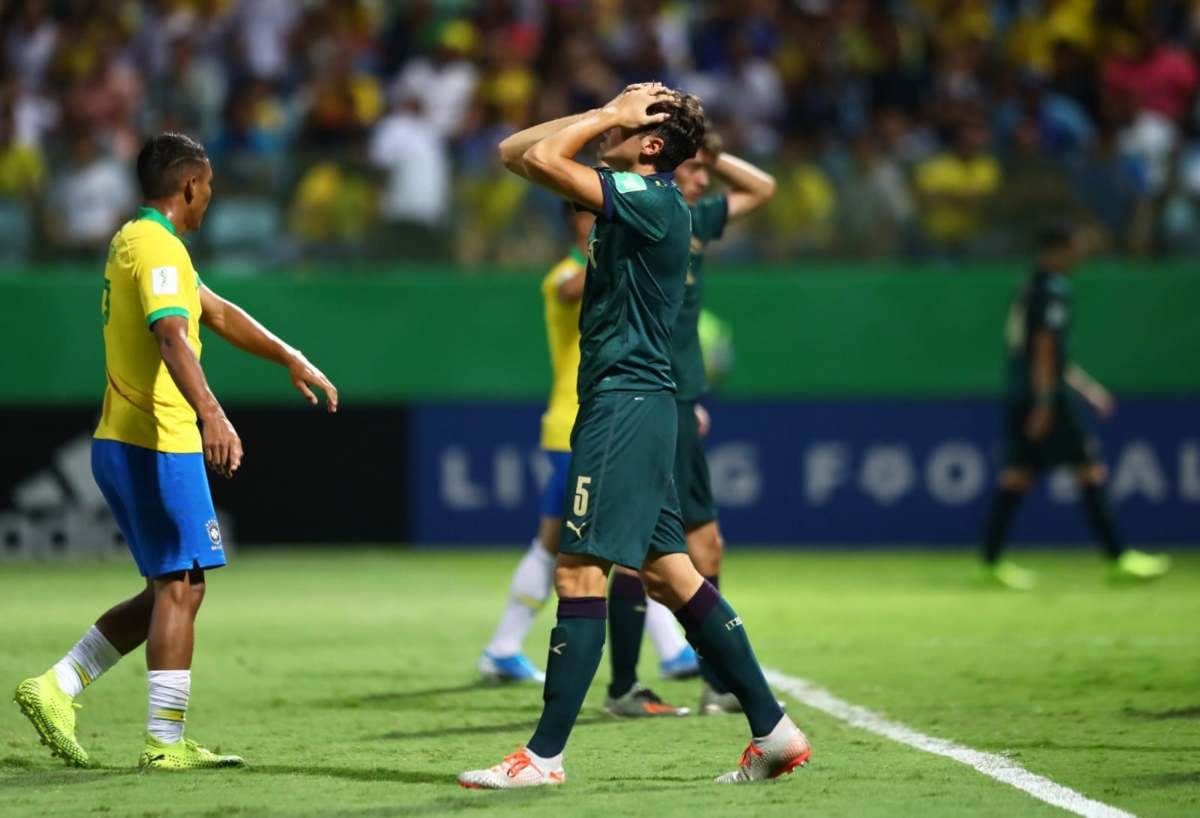 Italia eliminata dal Brasile nel Mondiale Under 17
