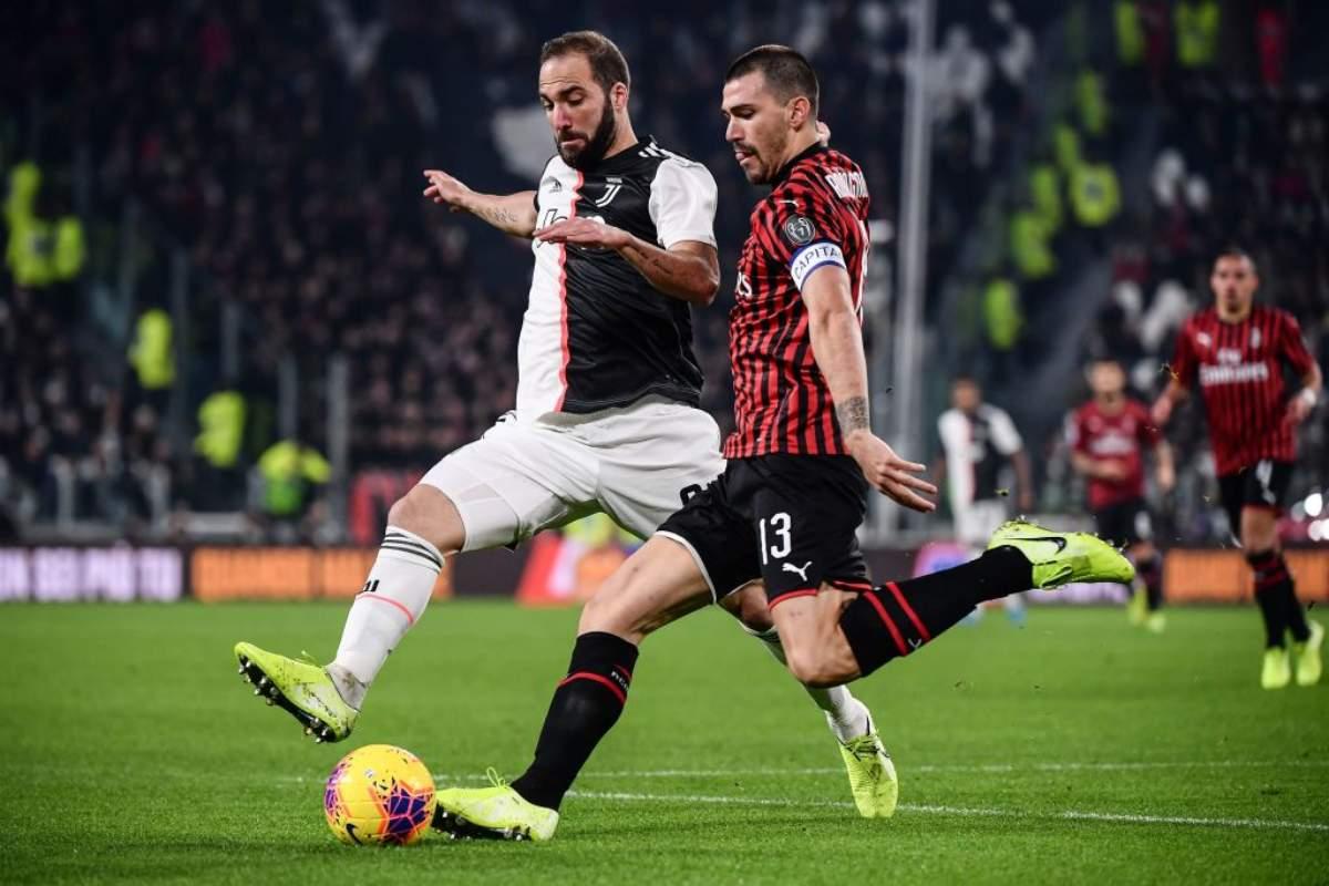 Juventus Milan Pagelle