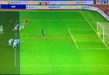 Gol annullato a Lapadula in Lazio-Lecce