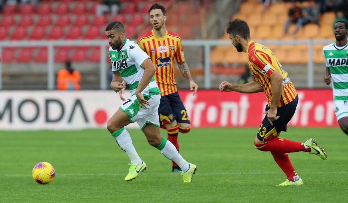 Lecce-Sassuolo highlights