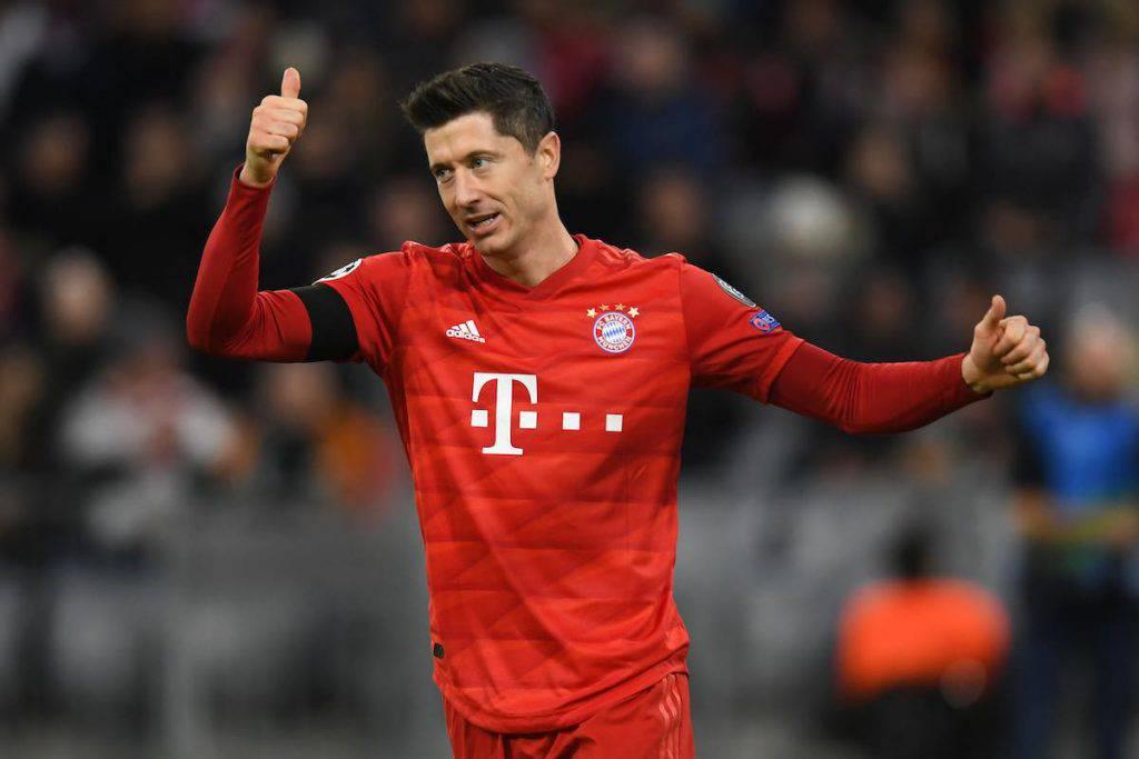Lewandowski, parole al miele per Guardiola