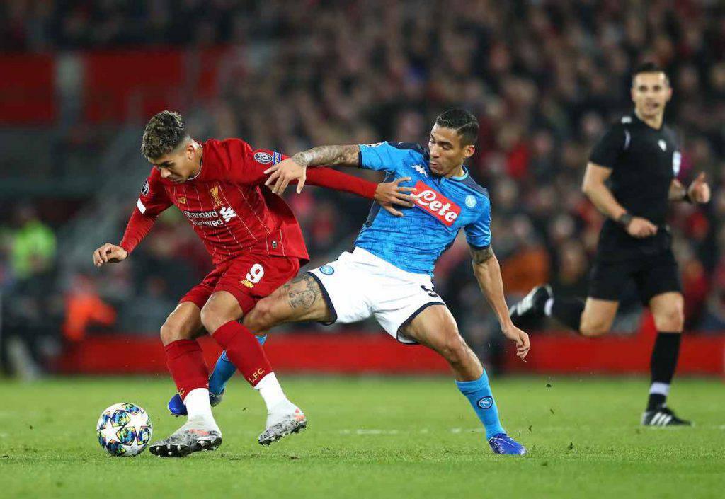 Liverpool-Napoli highlights
