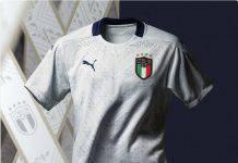 Italia, presentata la nuova maglia Away