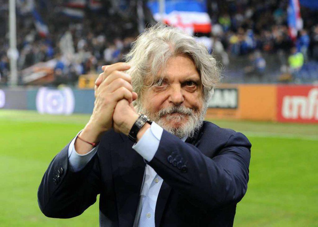 Massimo Ferrero, tweet per Mihajlovic