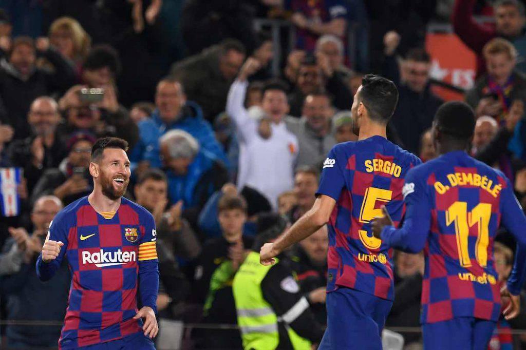 Messi, tripletta contro il Celta Vigo