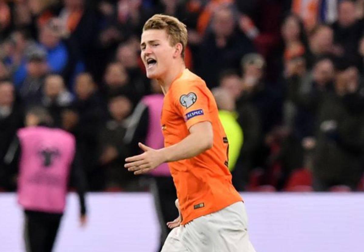 De Ligt in campo con l'Olanda per le qualificazioni a Euro 2020