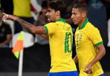 Paqueta in gol con il Brasile