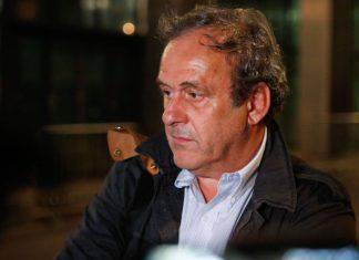 Michel Platini commenta il Var
