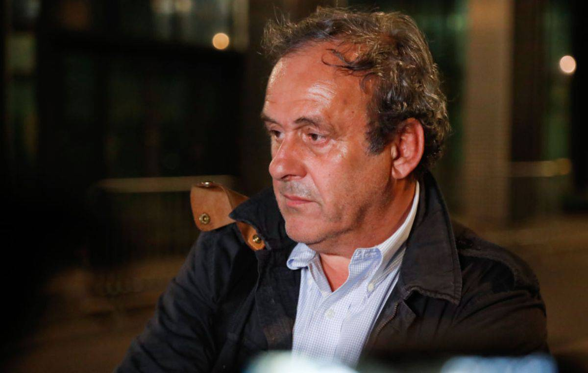 Michel Platini VAR