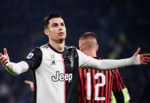 Cristiano Ronaldo sostituito in Juve-Milan: insulta Sarri