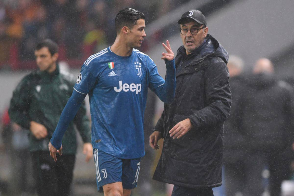 Juventus, De Ligt e Ronaldo in dubbio per il Milan: oggi allenamento a parte