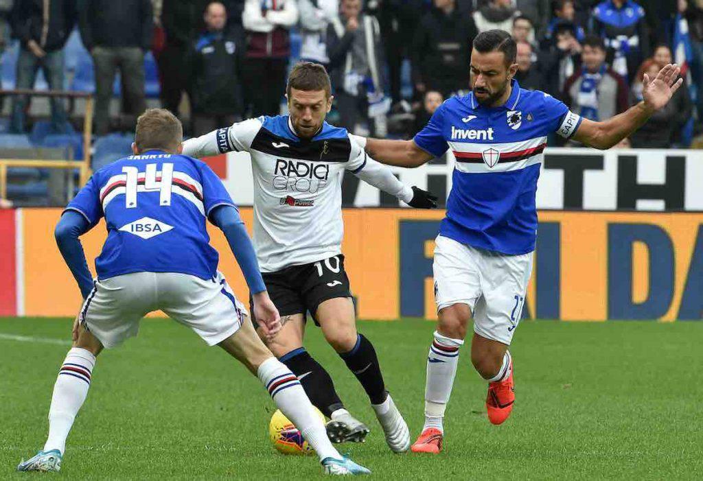 Sampdoria-Atalanta highlights e sintesi partita