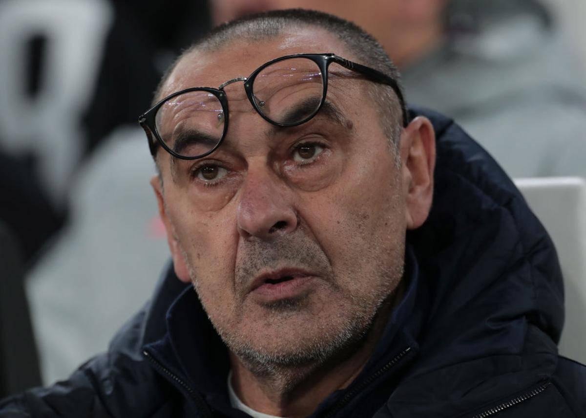 Sarri conferenza stampa Juventus-Sassuolo