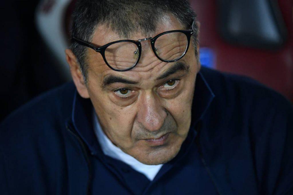Sarri nel post gara contro il Torino