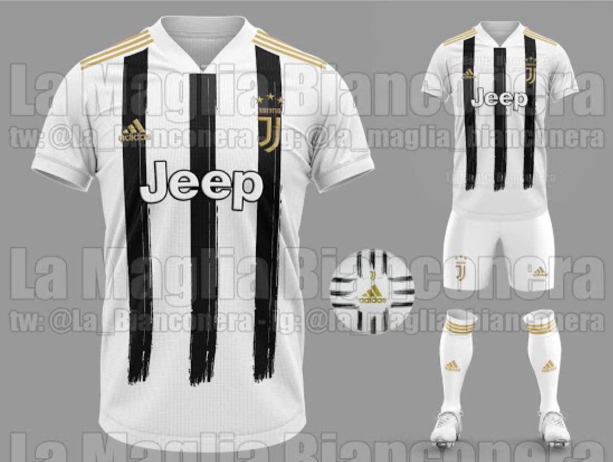 Juventus, la nuova maglia bianconera 2020-21 - FOTO