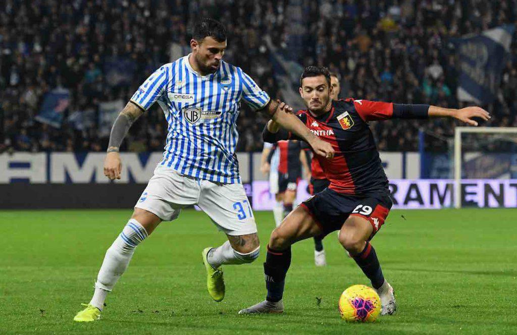 Spal-Genoa highlights, gol e sintesi partita