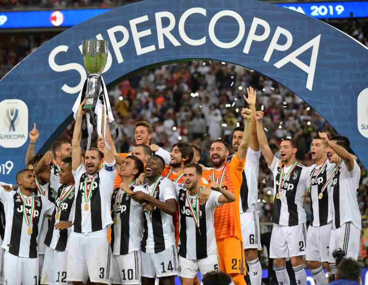 Supercoppa Italiana data Juventus Lazio