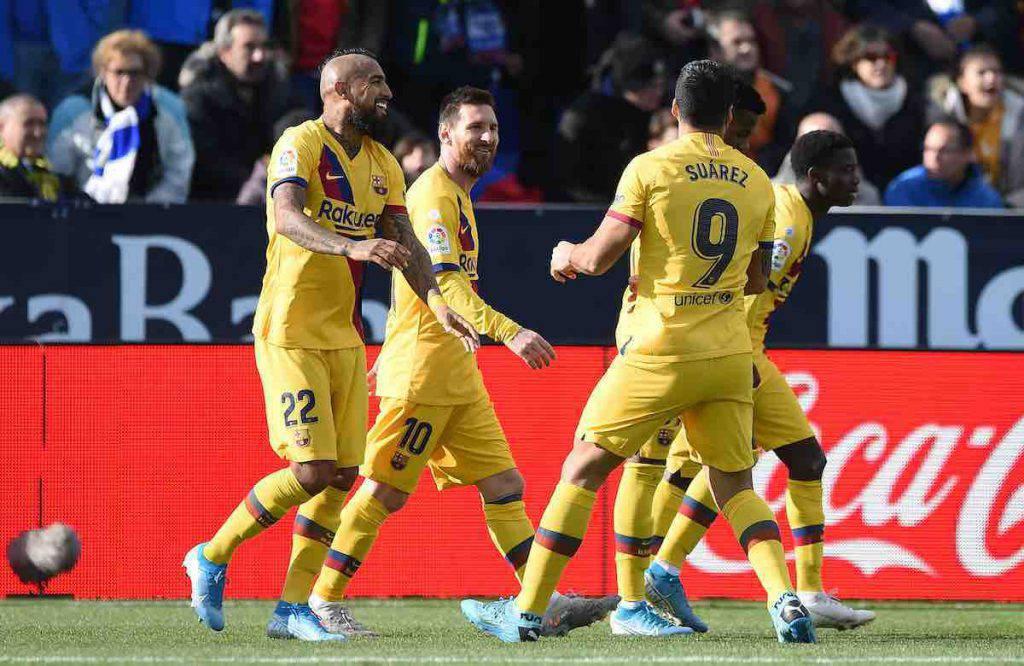 Vidal decisivo con il Barcellona
