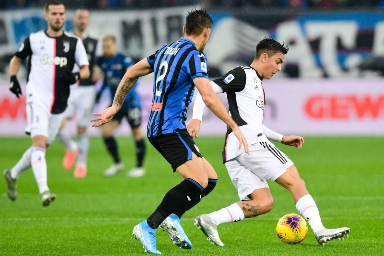 Atalanta-Juventus, live in tempo reale