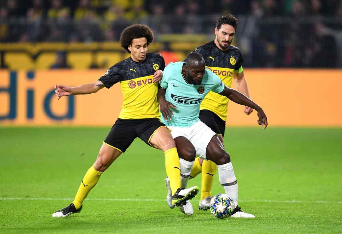 Borussia Dortmund-Inter, Champions League