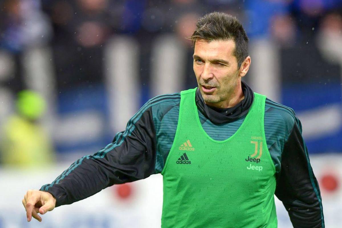 Juventus, Buffon in campo: a -2 dal record di Maldini