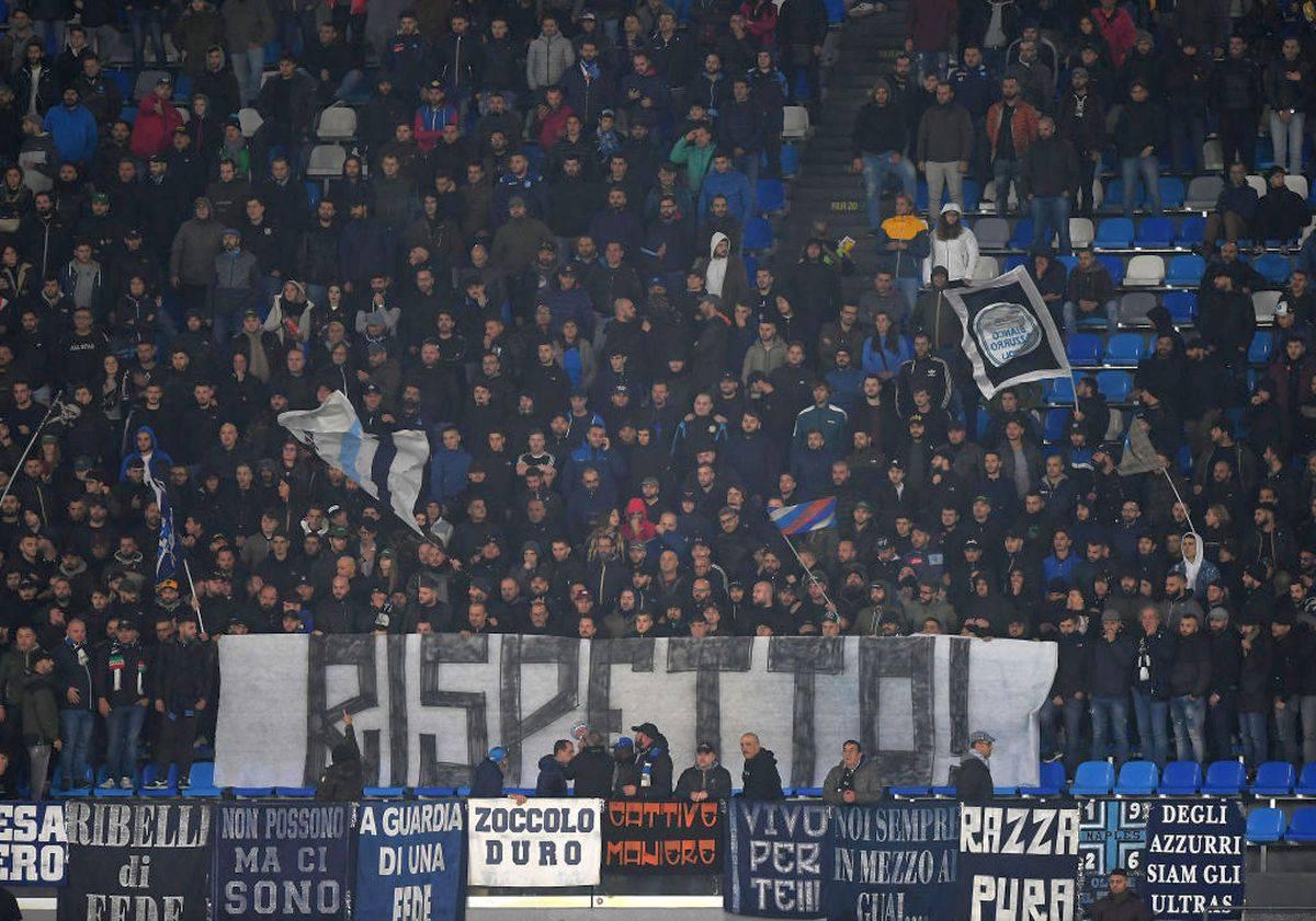Daspo a 21 ultras del Napoli e di altre squadre: i dettagli