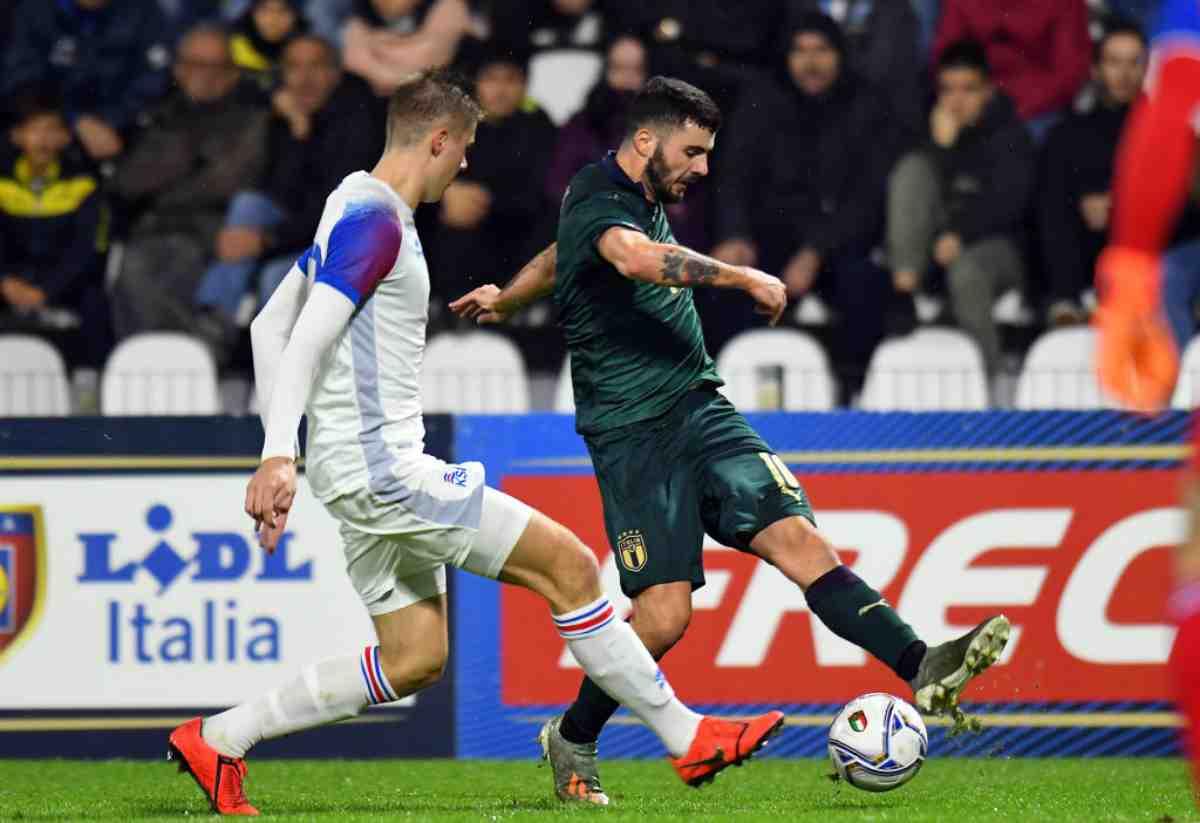 Under 21, Italia-Islanda 3-0: Sottil e Cutrone, tre squilli a Mancini