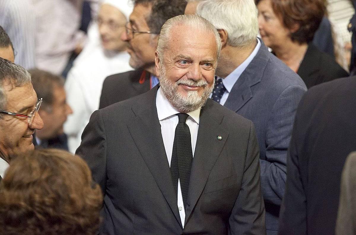 Napoli, De Laurentiis-squadra: oggi l'incontro chiarificatore
