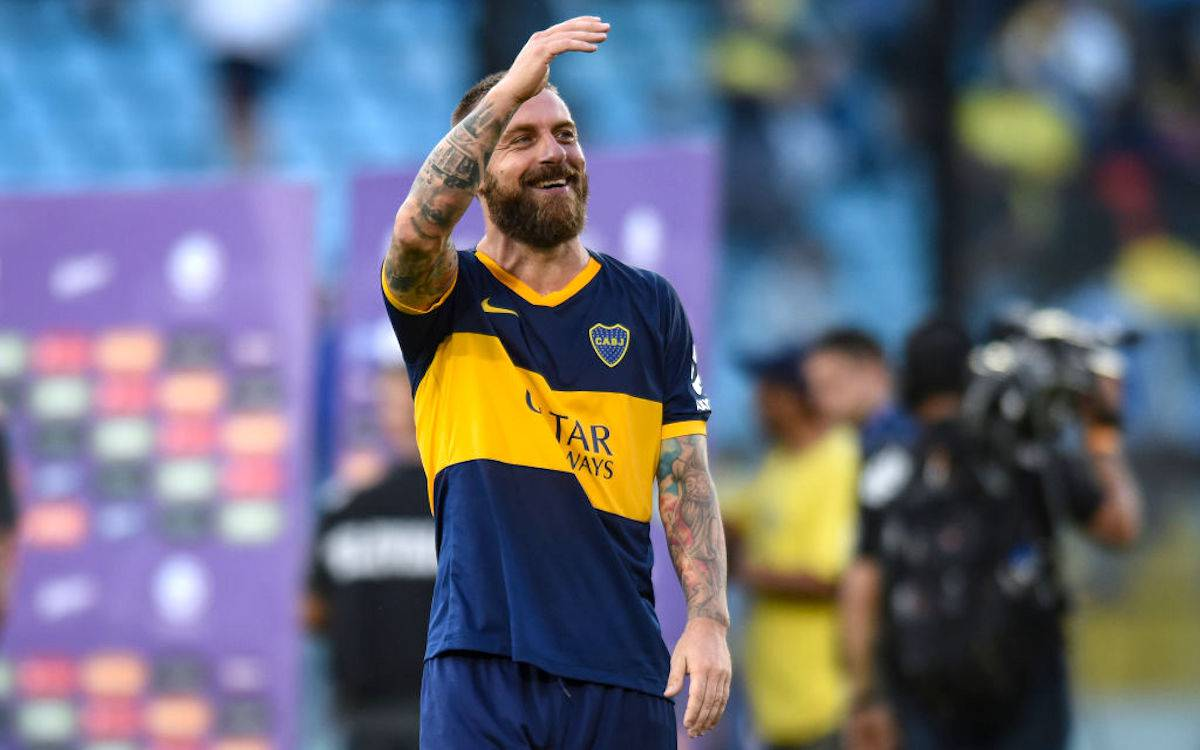 """Boca Juniors, De Rossi torna in campo dopo 84 giorni. """"Non andrò via"""""""