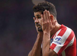 Atletico Madrid, Diego Costa fermo fino ad aprile: le ultime