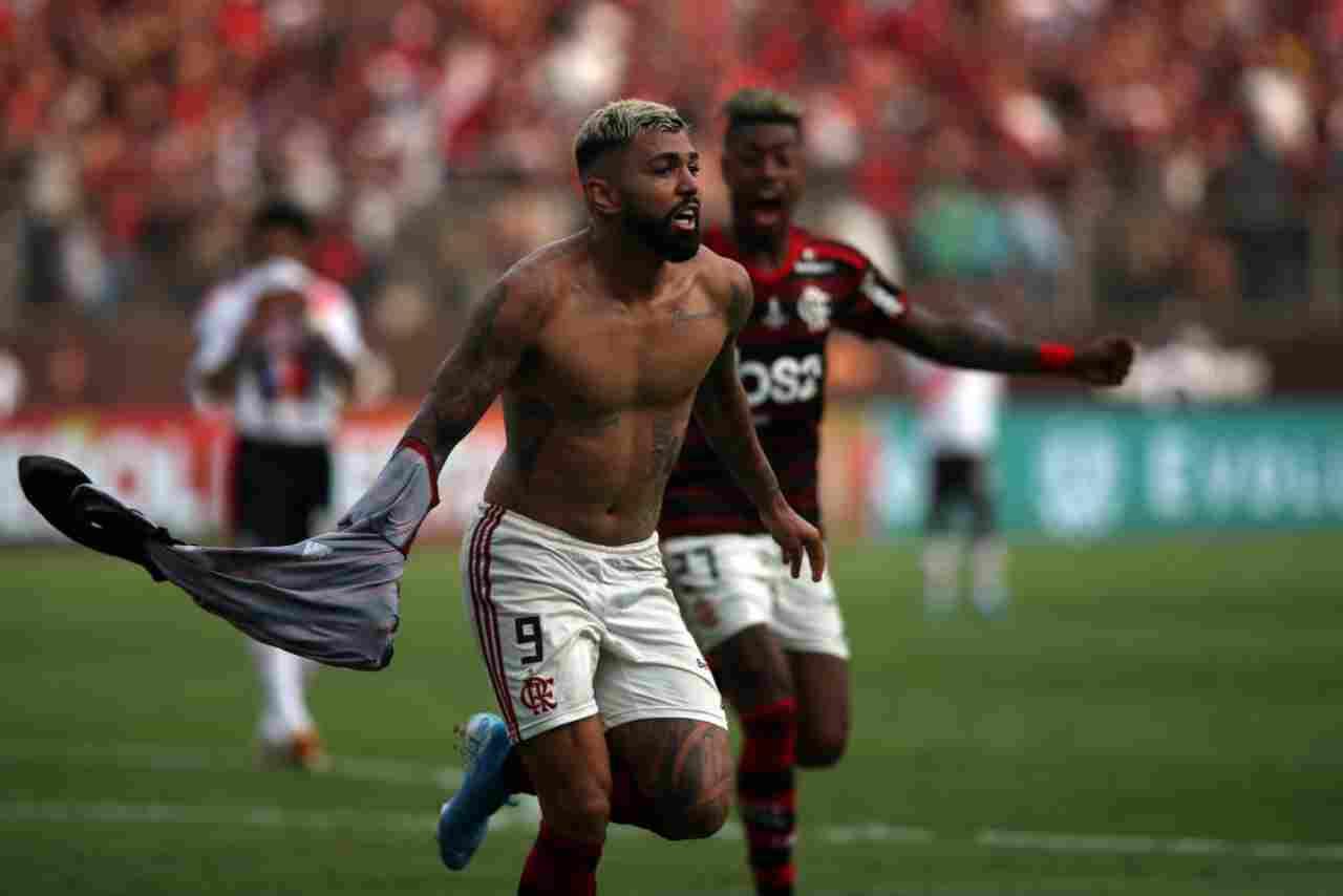 Gabigol, doppietta decisiva in Flamengo-River