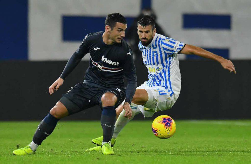 Highlights Sampdoria-Spal