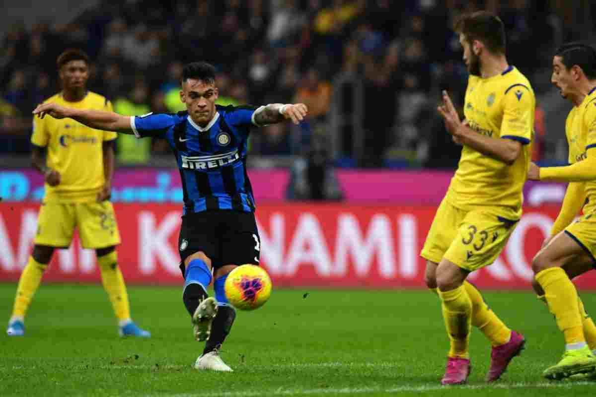 Inter-Verona, anticipo della 12.a giornata
