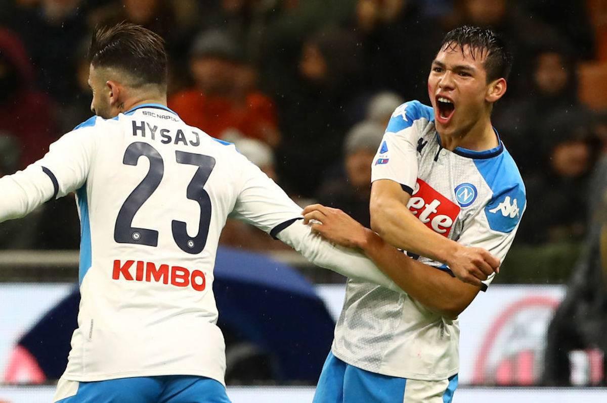 Milan-Napoli, pagelle e voti Gazzetta dello Sport: Lozano unica luce, Piatek da schiaffi